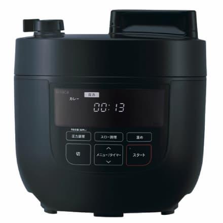 siroca 4L 電気圧力鍋 SP-4D171(K)