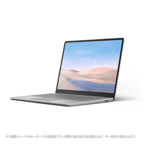 Microsoft Surface Laptop Go 12.4型/i5/4GB/64GB プラチナ 1ZO-00020